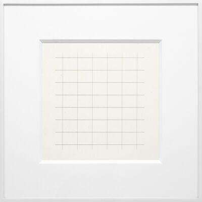 Agnes Martin, 'On a Clear Day #22', 1973