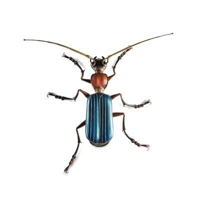 Edouard Martinet, 'Blue shiny beetle', 2019