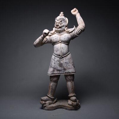 Tang Dynasty, 'T'ang Sculpture of a Lokapala', Tang Dynasty, c. 618 , 907 A.D.