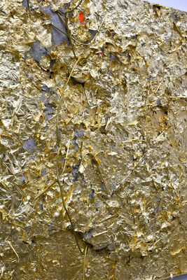 Matthew Adam Ross, 'Gold Aggregate', 2019