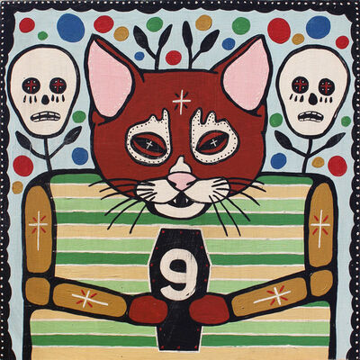"Mike Egan, '""Nine Lives""', 2017"