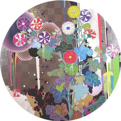Takashi Murakami, 'With Reverence, I Lay Myself Before You - Korin - Chrysanthemum', 2010