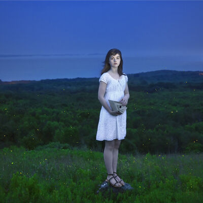 Cig Harvey, 'Devin and The Fireflies, Rockport, Maine', 2010