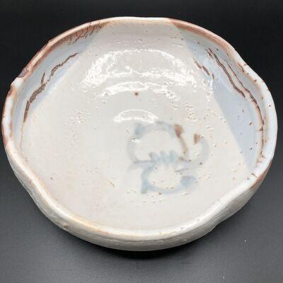 Tsukigata Nahiko, 'Japanese Oni-Shino Yaki Dish', 20th Century