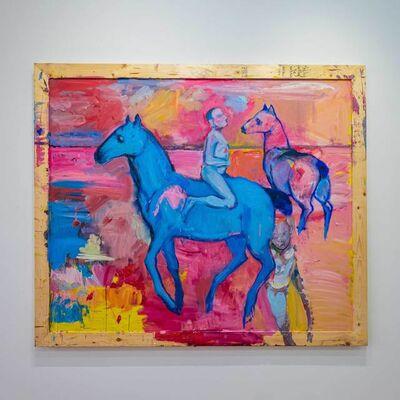 Carlos Quintana, 'Blue Horse', 2019