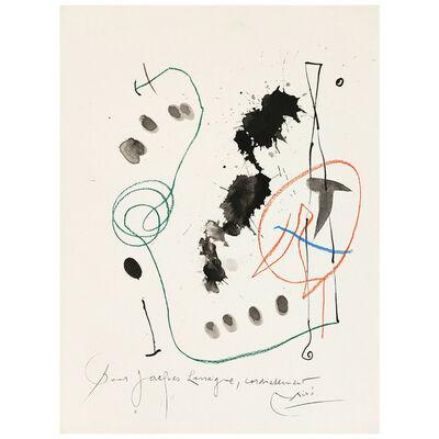 Joan Miró, 'Quelques Fleurs #11: Féquet', 1964