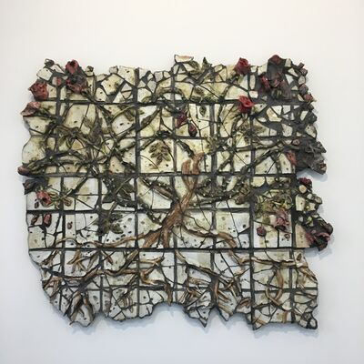 Valerie Hegarty, 'Broken Rosebush', 2018