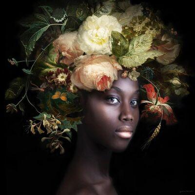 Yvonne Michiels, 'Fading Flowers Ivory', 2019