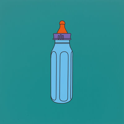 Michael Craig-Martin, 'Untitled (baby bottle)', 2014