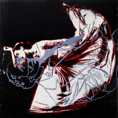 Andy Warhol, 'The Kick, Martha Graham and HC Andersen (Unique)', 1987