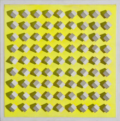 Luis Tomasello, ' Atmosphère Chromoplastique Jaune ', 1967