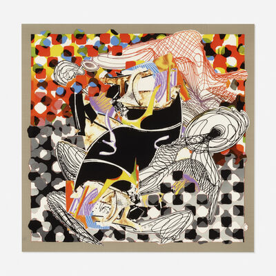 Frank Stella, 'The Whale Watch from the Moby Dick series', 1994