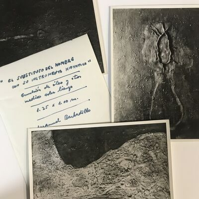 Manuel Barbadillo, 'Set of photographs of the artist, taken in New York before his geometric period', 1962-1968