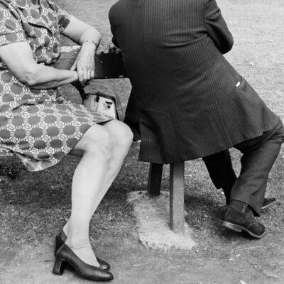 David Goldblatt, 'Couple on a Sunday afternoon, Zoo Lake, Johannesburg', 1975