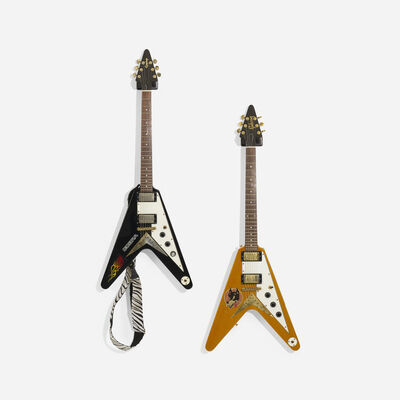 Gibson, 'Flying V Electric Guitars, Set of Two', c. 1970