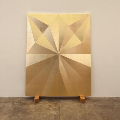 Gonzalo Lebrija, 'Unfolded Gold (Riff)', 2015