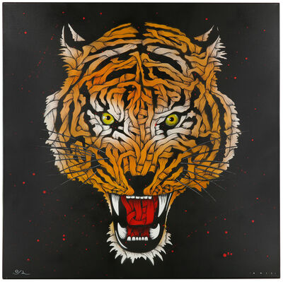 Otto Schade, 'Tiger Head', 2011