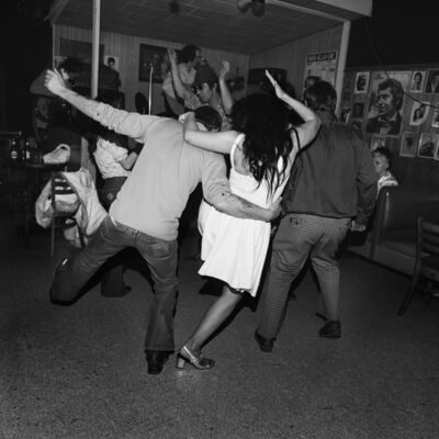 Henry Horenstein, 'Drunk Dancers, Merchant's Cafe, Nashville, TN', 1974