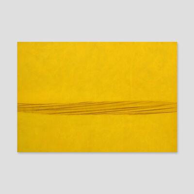 Sidival Fila, 'Metafora Giallo 1550', 2011