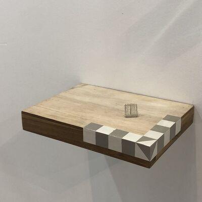 José Hidalgo-Anastacio, 'Square Decimeter of the Moon and Space Debris', 2017