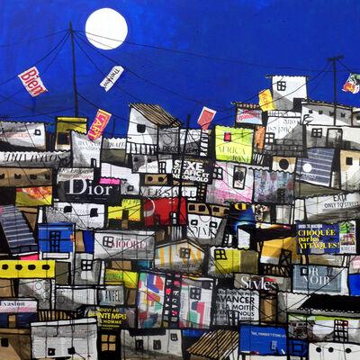 Obou Gbais, 'Locodjoro Streets collage N°1', 2019