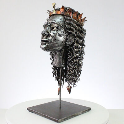 Sébastien Ruiz, 'The heart king', 2020