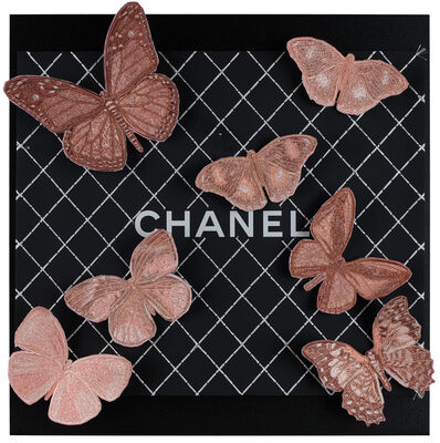 Stephen Wilson, 'Chanel Blush Butterflies', 2019