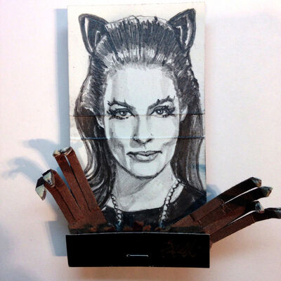 matchbox artists, 'Catwoman', 2015