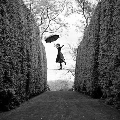 Rodney Smith, 'Kelsey Balancing on Tightrope, Amenia, NY ', 2013