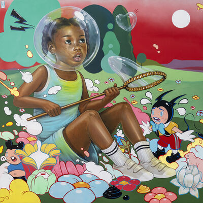 Kayla Mahaffey, 'In Your Own Bubble', 2019