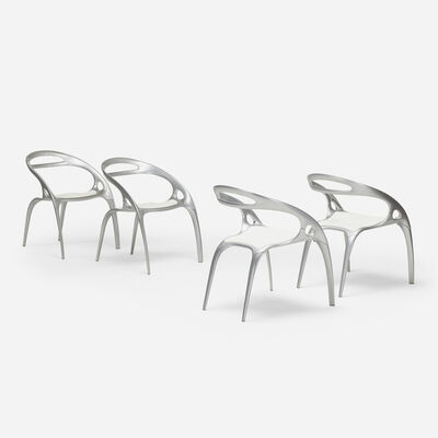 Ross Lovegrove, 'GO chairs, set of four', 1998
