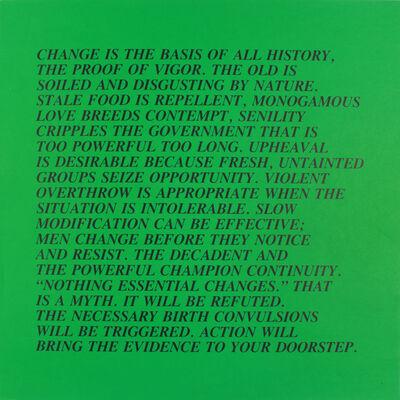 Jenny Holzer, 'Inflammatory ', 1979-1982