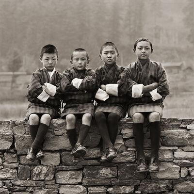Dana Gluckstein, 'Schoolboys, Bhutan', 2010