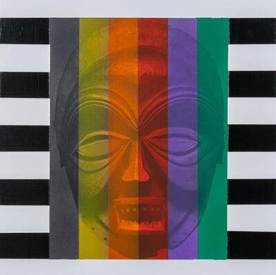 Rico Gatson, 'Mask Painting #3', 2018