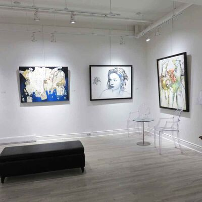 Draw me a story, installation view