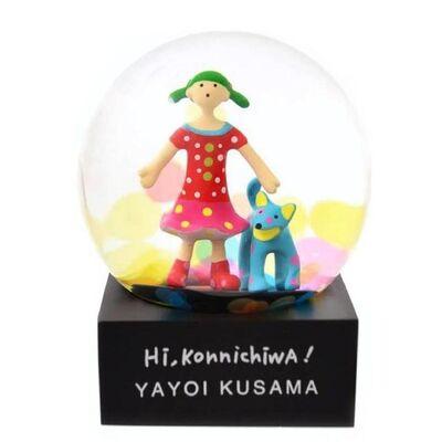 "Yayoi Kusama, '""Hi, Konnichiwa"" Snow Globe, 2019', 2019"
