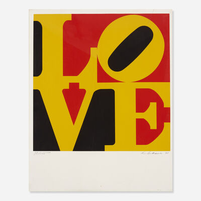 Robert Indiana, 'German Love', 1968