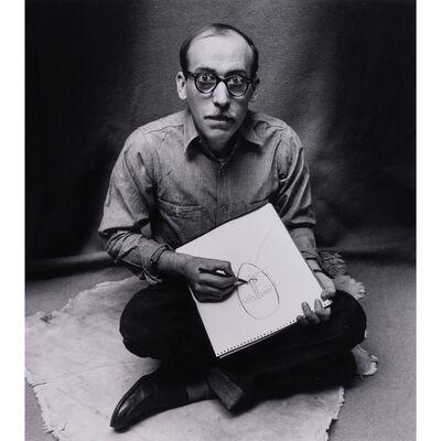 Irving Penn, 'Saul Steinberg, 29 janvier 1947-58, New York', 1947