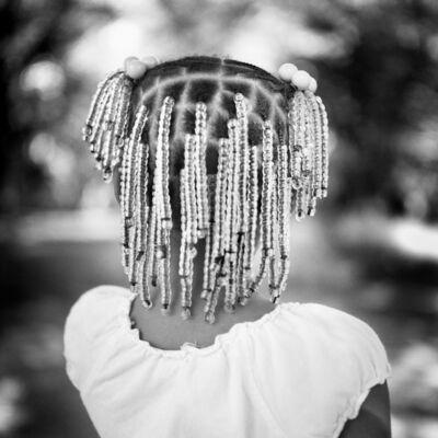 Brandon Thibodeaux, 'Maw Maw's New Braids, Duncan,Mississippi', 2009
