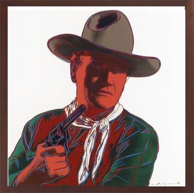 Andy Warhol, '​John Wayne, from Cowboys and Indians (F. & S. II.377)', 1986