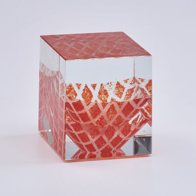 Jan Tohanzl, 'Internally-decorated cube', 1991