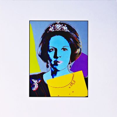 Andy Warhol, 'Queen Beatrix (Königin Beatrix) for Art Basel', ca. 1987