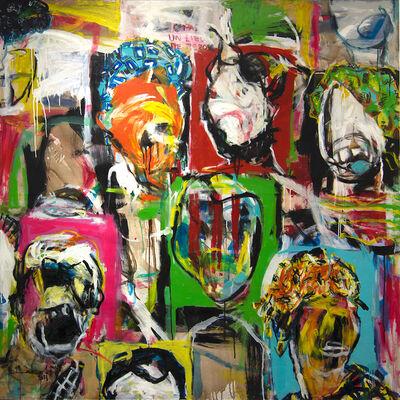 Bouvy Enkobo, 'Tribute ', 2013