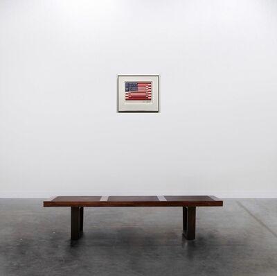 Richard Pettibone, 'Jasper Johns Three Flags 1958 Horizontal', 2001