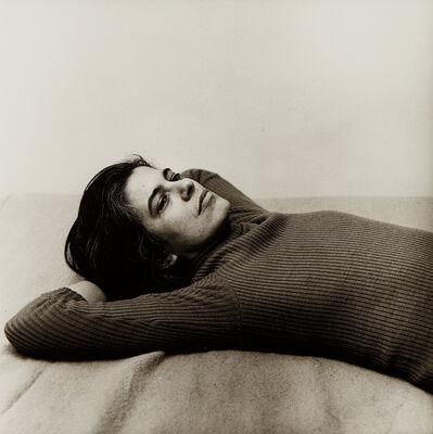 Peter Hujar, 'Susan Sontag', 1975
