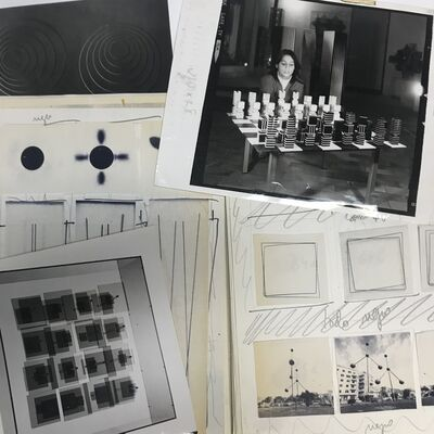 Francisco Sobrino, 'Documentary set about the catalogue of the Sobrino 1958-1974 exhibition, held in May 1975, in the PROPAC Rooms in Madrid', 1975