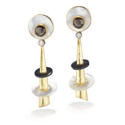 Jeff & Susan Wise, 'Art Deco Earrings', 2017