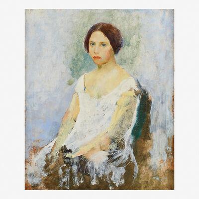 Charles Webster Hawthorne, 'Portrait of a Girl'