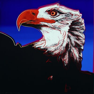 Andy Warhol, ' Bald Eagle (FS II.296)', 1983