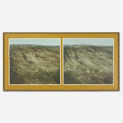 Llyn Foulkes, 'Twin Hills', 1968